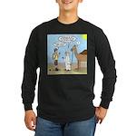 Oasis Hot Long Sleeve Dark T-Shirt