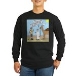 Oasis Hot Long Sleeve Dark T-Shirt