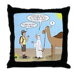 Oasis Hot Throw Pillow