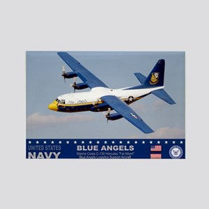 Blue Angels C-130 Hercules Rectangle Magnet