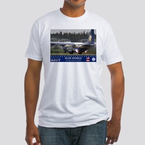 Blue Angels C-130 Hercules Fitted T-Shirt