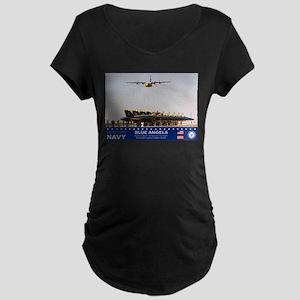 Blue Angels C-130 Hercules Maternity Dark T-Shirt