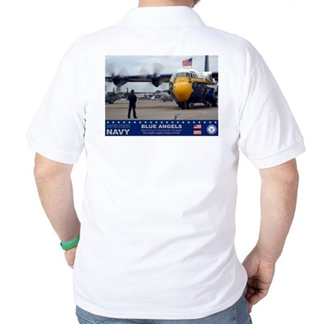 Blue Angels C-130 Hercules Golf Shirt