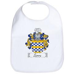 Serra Family Crest Bib