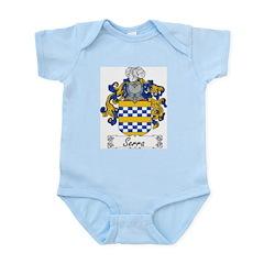 Serra Family Crest Infant Creeper