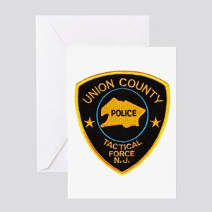 Union County Tac Greeting Card