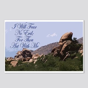 I Will Fear No Evil Postcards (Package of 8)