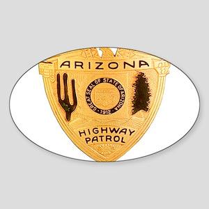 Arizona Highway Patrol Oval Sticker