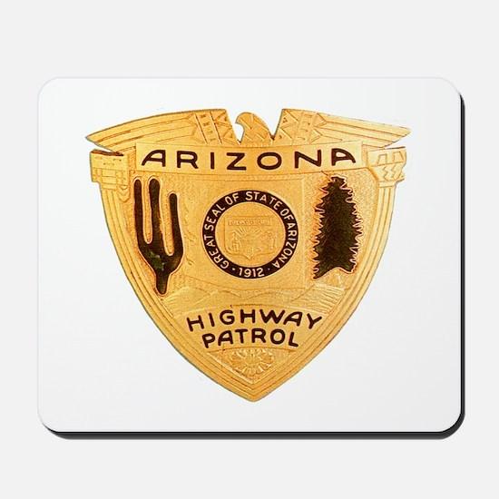 Arizona Highway Patrol Mousepad