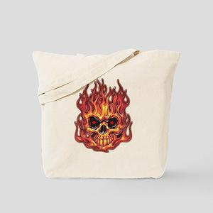 Death's Flames Tote Bag