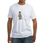 (Part-time) Professor Monkey Fitted T-Shirt