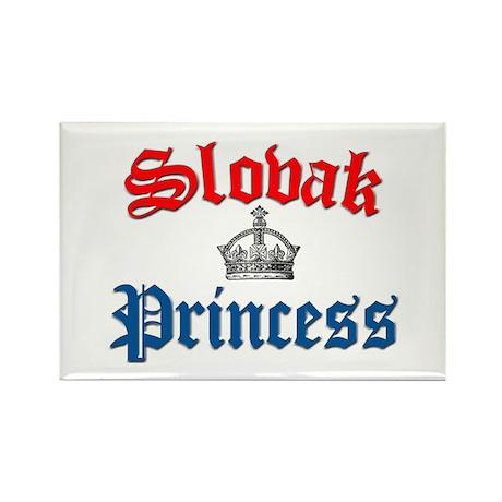 Slovak Princess 2 Rectangle Magnet