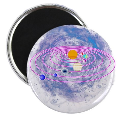 Solar System T Shirt - Awesome Gift Tshirt Magnets
