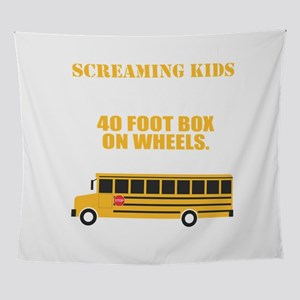 School Bus Driver T-Shirt For School Wall Tapestry