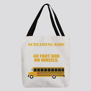 School Bus Driver T-Shirt For S Polyester Tote Bag