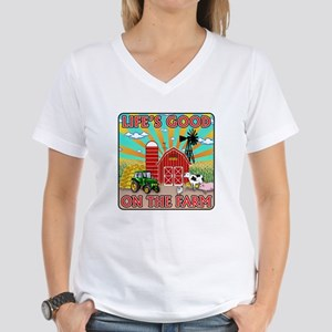 The Farm Women's V-Neck T-Shirt