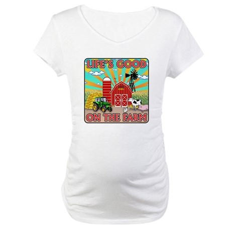 The Farm Maternity T-Shirt
