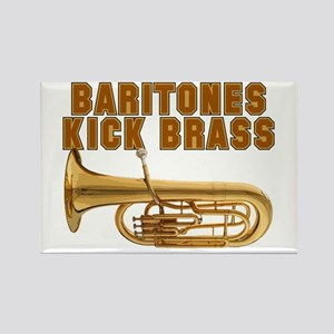 Baritones Kick Brass Rectangle Magnet