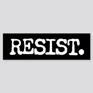RESIST. Bumper Sticker
