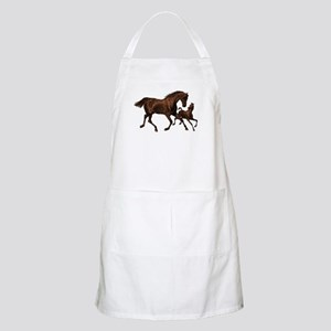 Chestnut Mare and Foal Apron