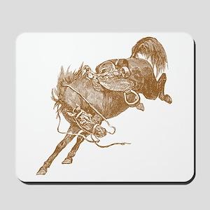 Brown Bronco Mousepad