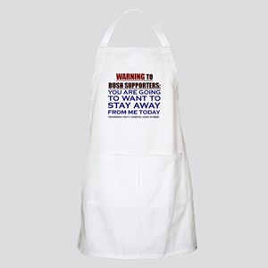 You'll want to STAY AWAY BBQ Apron