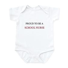 Proud to be a School Nurse Infant Bodysuit