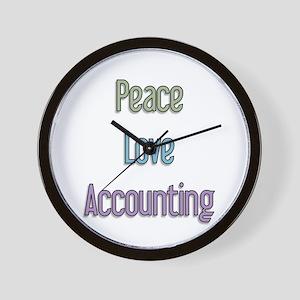 Accountant Gift Wall Clock