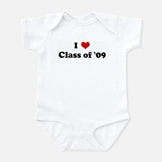 I Love Class of '09 Infant Bodysuit