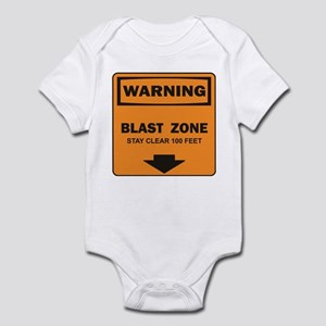 Warning Blast Infant Bodysuit