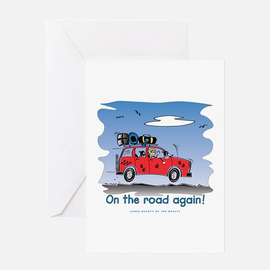 On the Road Again - Bright Sky Greeting Card