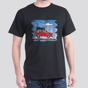 On the Road Again - Bright Sky Dark T-Shirt