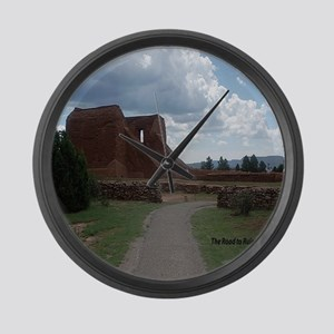 Road to Ruins Large Wall Clock