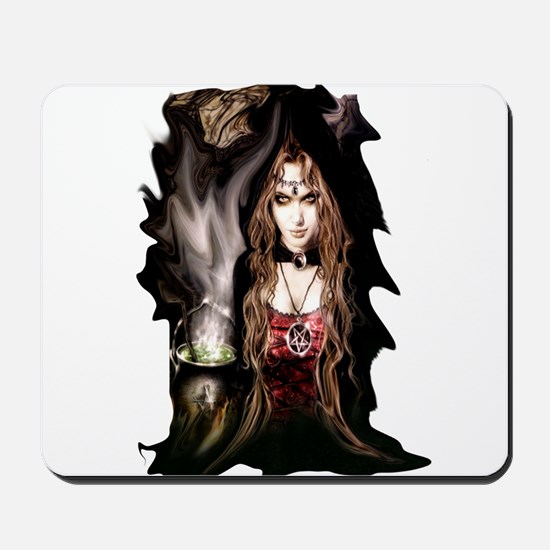 Tempting Witch Mousepad