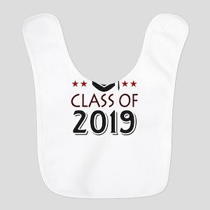 Class of 2019 school graduation Polyester Baby Bib