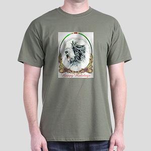 OES Happy Holidays Dark T-Shirt