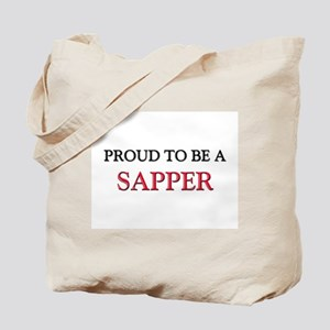Proud to be a Sapper Tote Bag