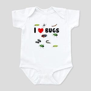 I Love Bugs (Infant Bodysuit)