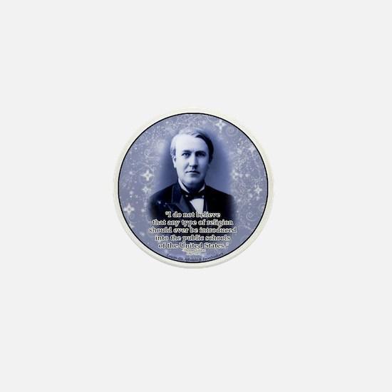 Thomas Edison Mini Button