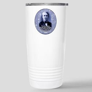 Thomas Edison Stainless Steel Travel Mug