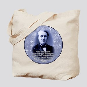 Thomas Edison Tote Bag