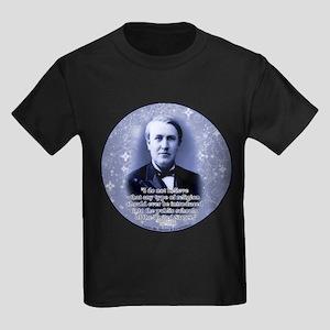 Thomas Edison Kids Dark T-Shirt