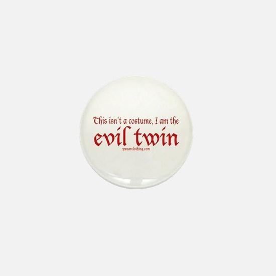 No Costume Twin Mini Button