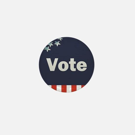 Vote Mini Button