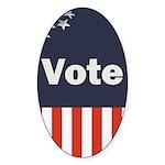 Vote Sticker (Oval 50 pk)