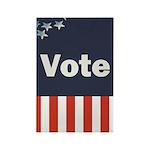 Vote Rectangle Magnet (10 pack)