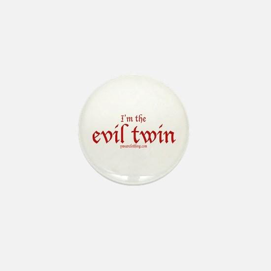 Evil Twin Mini Button