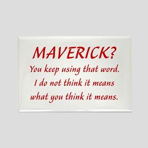 Maverick McCain Rectangle Magnet