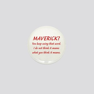 Maverick McCain Mini Button