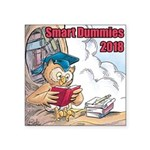 Smart Dummies 2018 Logo Square Sticker